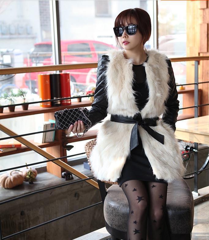 Ladies-Winter-Vintage-White-Warm-Faux-Fur-Retro-Sexy-Women-Long-font-b-Vest-b-font